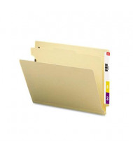 Smead 4-Section Letter 18-Point Manila End Tab Classification Folder, 10/Box