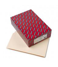 Smead Reinforced Straight Cut End Tab Legal File Folder, Manila, 100/Box