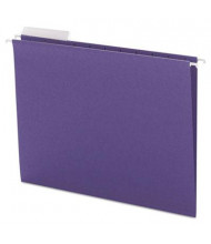 Smead Letter 1/3 Tab Hanging File Folders, Purple, 25/Box