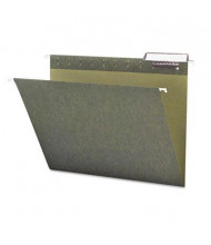Smead Letter 1/3 Tab Hanging File Folders, Green, 25/Box