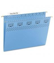 Smead Letter Tuff Hanging Folders, Blue, 20/Box