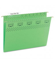 Smead Letter Tuff Hanging Folders, Bright Green, 18/Box