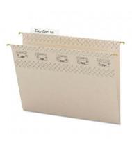 Smead Letter Tuff Hanging Folders, Gray, 18/Box