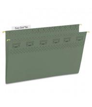 Smead Legal Tuff Hanging Folders, Green, 20/Box