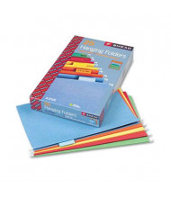 Smead Legal 1/5 Tab Hanging File Folders, Assorted Colors, 25/Box