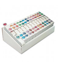 """Smead 1-1/4"""" x 1"""" A-Z Bar-Style End Tab Labels, Assorted, 13000/Box"""