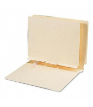 Smead Letter Self-Adhesive Folder Dividers, Manila, 100/Box