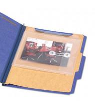 "Smead 8-1/2"" x 7"" Side & Top Loading Envelope Jacket, Clear, 5-Pack"