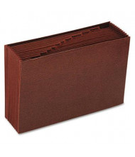 Smead 12-Pocket Legal Indexed Open Top Tuff Expanding File, Redrope