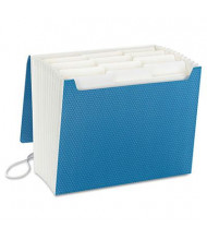 Smead 12-Pocket Letter SuperTab Expanding File with Closure, Blue