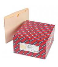 "Smead Single-Ply Tab 1"" Expansion Letter File Jackets, Manila, 50/Box"
