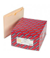 "Smead Double-Ply Tab 1"" Expansion Letter File Jackets, Manila, 50/Box"