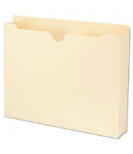 "Smead Recycled Top Tab 2"" Expansion Letter File Jackets, Manila, 50/Box"