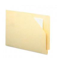 Smead End Tab Flat Expansion Cut-Away Letter File Jackets, Manila, 100/Box