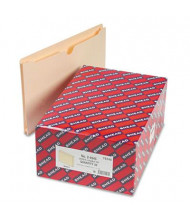 "Smead Double-Ply Top Tab 1-1/2"" Expansion Legal File Jackets, Manila, 50/Box"