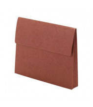 "Smead Letter 2"" Expanding Wallet with Velcro Closure, Redrope"