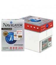 """Navigator 8-1/2"""" X 11"""", 20lb, 2500-Sheets, Platinum Paper"""