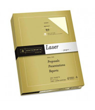 """Southworth 25% Cotton 8-1/2"""" X 11"""", 32lb, 300-Sheets, Ivory Premium Laser Paper"""