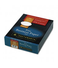 """Southworth 8-1/2"""" x 11"""", 20lb, 500-Sheets, Red-Ruled 25% Cotton Business Paper"""