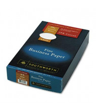 "Southworth 8-1/2"" x 14"", 20lb, 500-Sheets, White Wove 25% Cotton Business Paper"