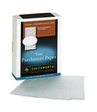 "Southworth 8-1/2"" x 11"", 24lb, 500-Sheets, Gray Parchment Specialty Paper"