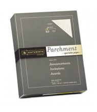 "Southworth 8-1/2"" x 11"", 24lb, 500-Sheets, Ivory Parchment Specialty Paper"