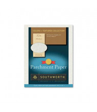 """Southworth 8-1/2"""" x 11"""", 32lb, 250-Sheets, Ivory Parchment Specialty Paper"""