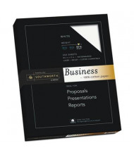 "Southworth 8-1/2"" x 11"", 32lb, 250-Sheets, White 100% Cotton Business Paper"