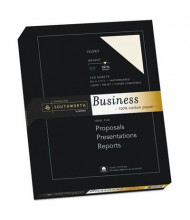 "Southworth 8-1/2"" x 11"", 32lb, 250-Sheets, Ivory 100% Cotton Business Paper"