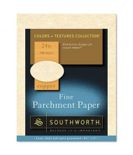 "Southworth 8-1/2"" x 11"", 24lb, 100-Sheets, Copper Parchment Specialty Paper"