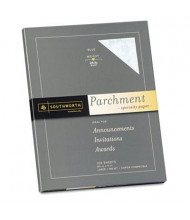 "Southworth 8-1/2"" x 11"", 24lb, 100-Sheets, Blue Parchment Specialty Paper"
