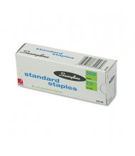 "Swingline 20-Sheet Capacity S.F. 1 Standard Staples, 1/4"" Leg, 5000/Box"