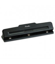 Swingline 10-Sheet Light Duty Adjustable 3-Hole Punch