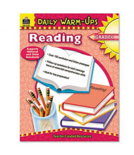 Teacher Created Resources Daily Warm-Ups: Reading Grade 1 Paperback Book, 176 Pages