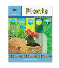 Teacher Created Resources Plants Grades 2-5 Super Science Activity Book, 48 pages