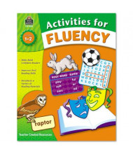 Teacher Created Resources Activities for Fluency Grades 1-2 Book, 144 Pages