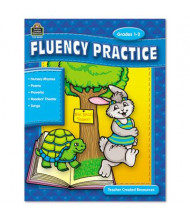 Teacher Created Resources Fluency Practice Set Grades 1-8 Book, 144 Pages, 3 Books