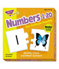 Trend Fun to Know Numbers 1-20 Puzzles, 40 Pieces