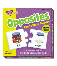 Trend Fun to Know Opposites Puzzles, 48 Pieces