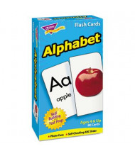 "Trend Alphabet Skill Drill Flash Cards, 3"" x 6"", 80/Pack"