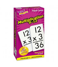 "Trend Multiplication Skill Drill Flash Cards, 3"" x 6"", 91/Pack"