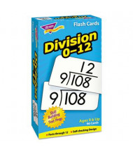 "Trend Division Skill Drill Flash Cards, 3"" x 6"", 91/Pack"