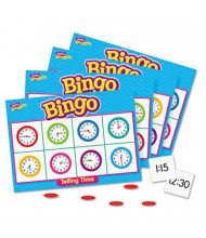 Trend Young Learner Telling Time Bingo Game