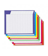 "Trend 28"" x 22"" Horizontal Incentive Charts, Assorted, 8/Pack"
