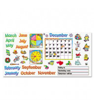 "Trend Monthly Calendar with Cling 22"" x 17"" Bulletin Board Set"