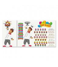 Trend Happy Birthday Bake Shop Bulletin Board Set, 93 Pieces