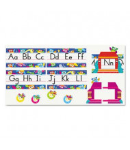 "Trend Owl-Stars 12-3/4"" x 8-1/2"" Alphabet Line Bulletin Board Set, 29 Pieces"