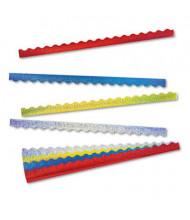 """Trend Sparkle Terrific 39"""" x 2-1/4"""" Assorted Colors Border Trimmer Panels, 40/Set"""