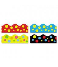 "Trend Terrific 39"" x 2-1/4"" Lotsa Spots Print Board Trimmer Panels, 48/Set"