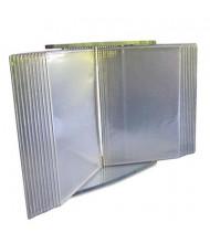 Tarifold, Inc. 20-Pocket Crystal Desk Reference System Starter Set, Clear Borders
